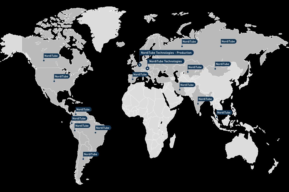 NordiTube-Landkarte