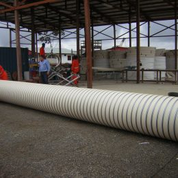 Installation Of NordiTube's Spiral Wound Pipe CONCRETLOC
