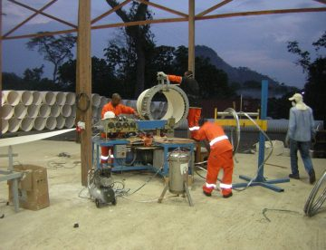 Installation Of NordiTube's Spiral Wound Pipe CONCRETLOC 2